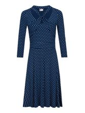 Pussy Deluxe Lovely Marine Knotted Dress Kleid blau – Bild 0