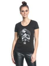 The Nightmare Before Christmas Sallys Spiders Girl Shirt schwarz – Bild 0