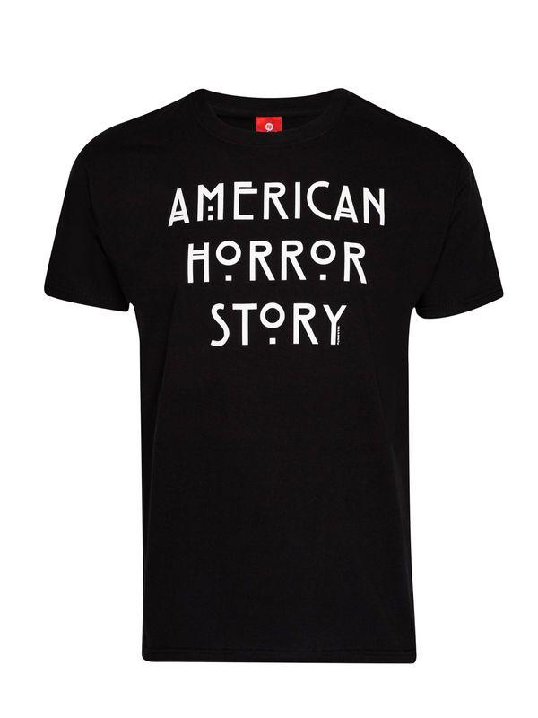 American Horror Story Logo T-Shirt schwarz – Bild 0