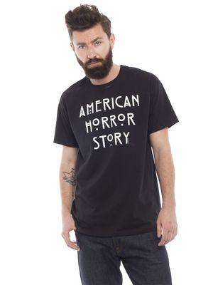 American Horror Story Logo T-Shirt schwarz – Bild 1