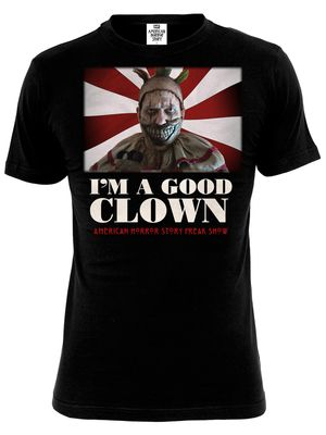American Horror Story Good Clown T-Shirt schwarz – Bild 0