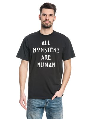 American Horror Story All Monster Are Human T-Shirt schwarz – Bild 1