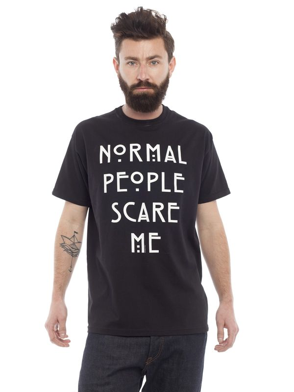 American Horror Story Normal People T-Shirt black – Bild 1