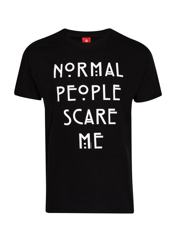 American Horror Story Normal People Tee black view