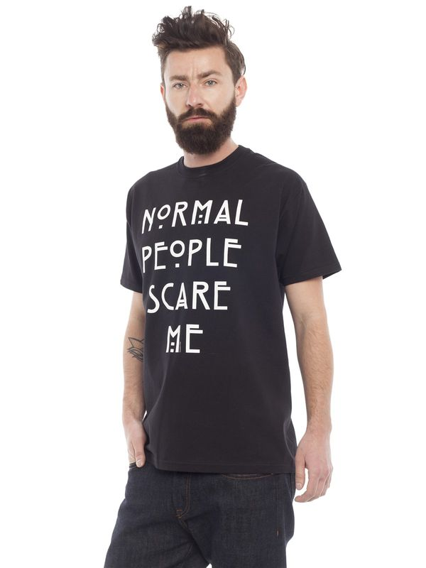 American Horror Story Normal People T-Shirt schwarz – Bild 2