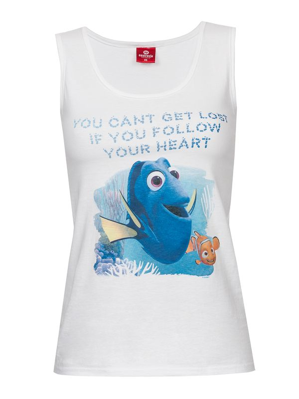 Disney Finding Dory You Can't Get Lost Tank Top white – Bild 1