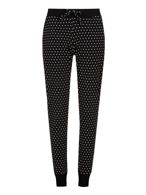 Pussy Deluxe Lazy Day Dotties Jogging Pants black view