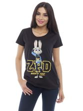 Zootopia ZPD Wants you! Damen Shirt schwarz – Bild 0