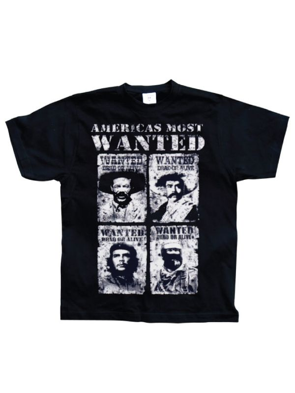 Americas Most Wanted T-Shirt schwarz