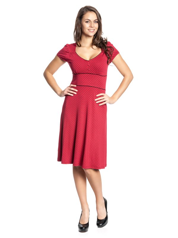 Vive Maria American Beauty Dress red – Bild 1