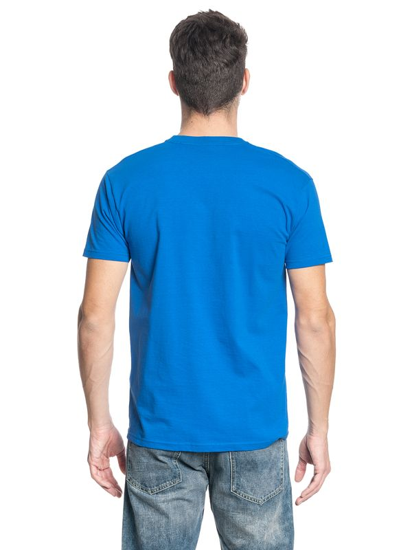 ONE PIECE Luffy Männer T-Shirt blau – Bild 3