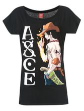 ONE PIECE ACE Girl T-Shirt black – Bild 0