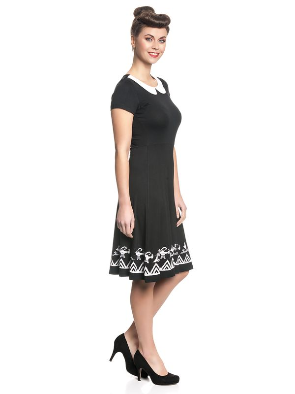 Vaiana Symbols Girl Dress black/white – Bild 3