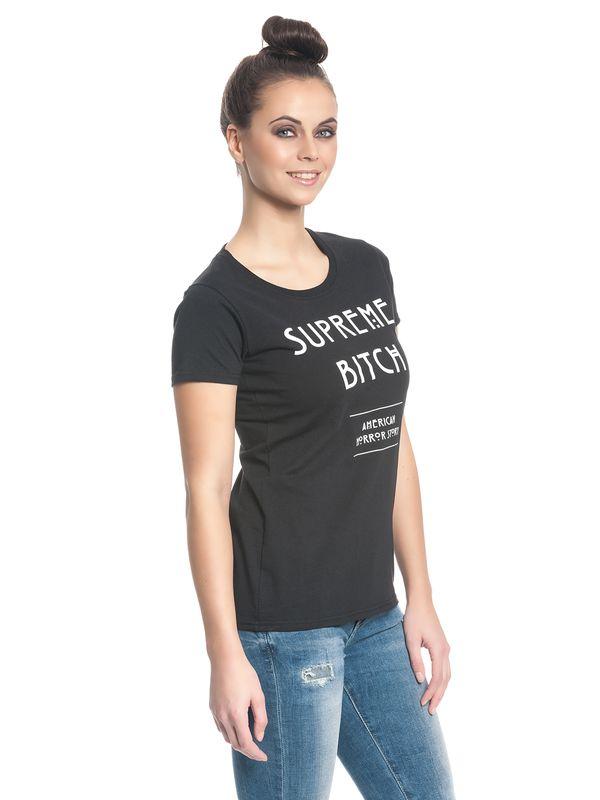 American Horror Story Supreme Bitch Girl Shirt black – Bild 3