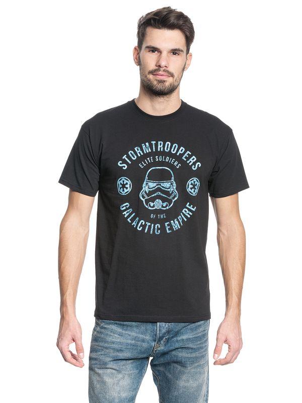 Star Wars Stormtroopers Elite Soldiers Herren T-Shirt schwarz – Bild 1