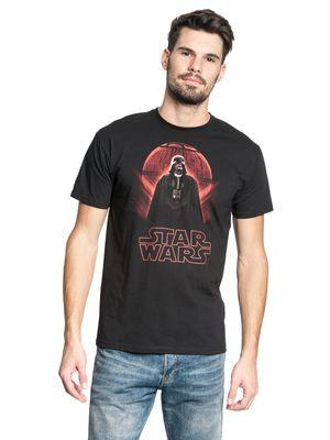 Star Wars Darth Vader Death Star Männer T-Shirt schwarz – Bild 1