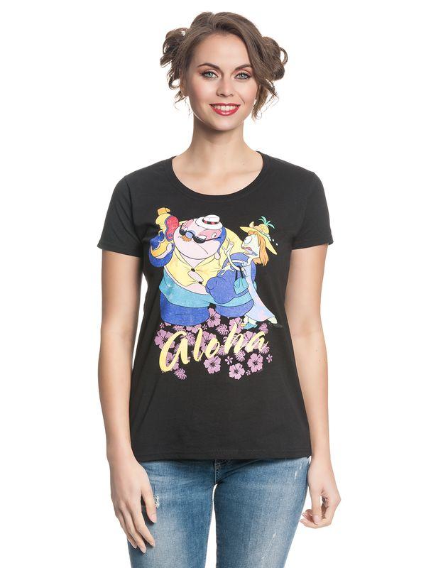Lilo & Stitch Incognito Girl Shirt schwarz – Bild 1