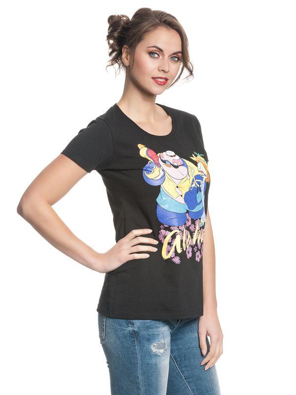 Lilo & Stitch Incognito Girl Shirt schwarz – Bild 3