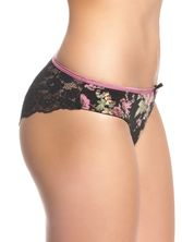 Vive Maria Bouquet D'Amour Panty Black Allover – Bild 2
