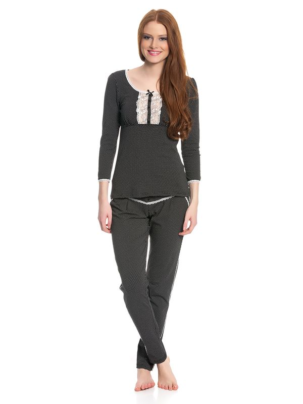 Vive Maria French Lolita Pyjama black allover – Bild 1