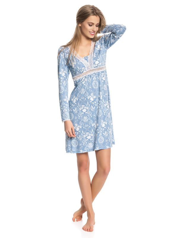 Vive Maria Blue Barock Nightdress blue allover – Bild 2