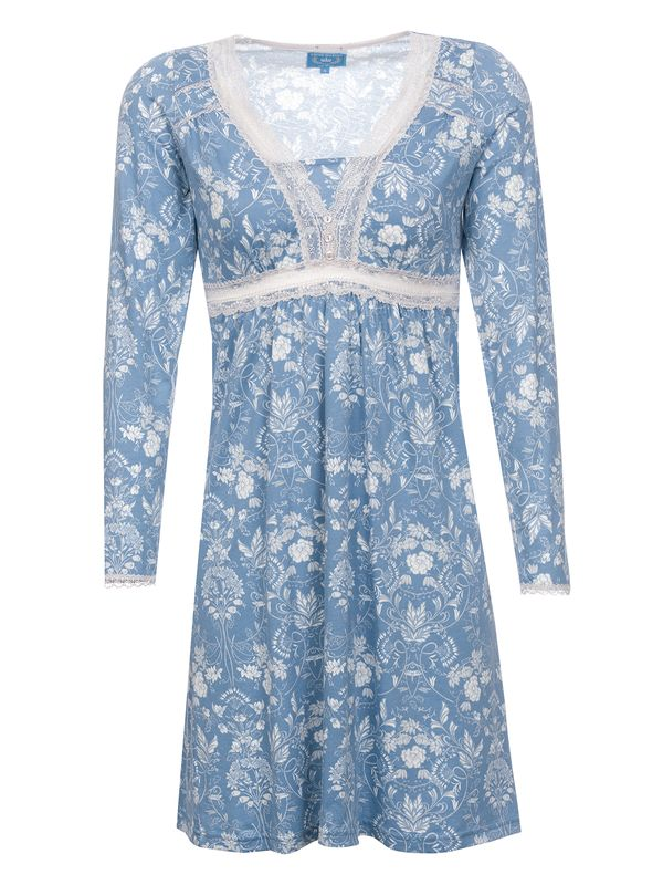 Vive Maria Blue Barock Nightdress blue allover – Bild 1