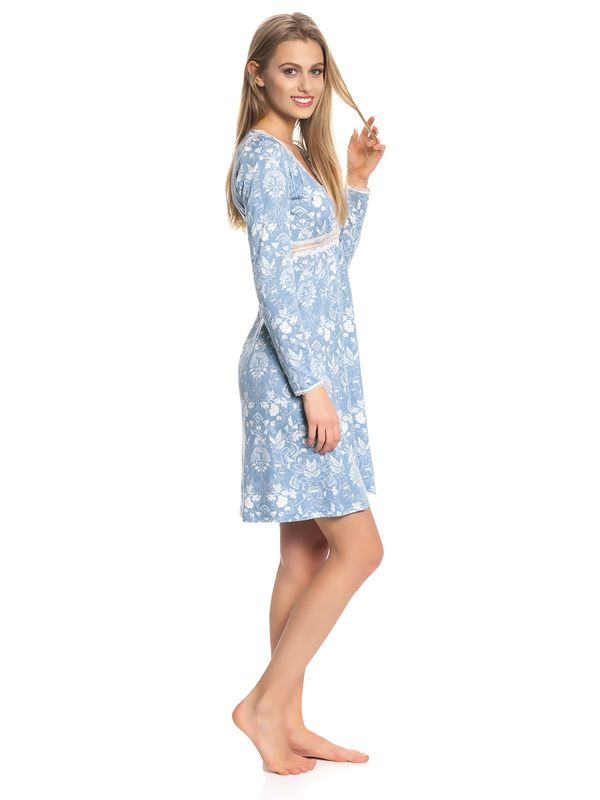 Vive Maria Blue Barock Nightdress blue allover – Bild 3