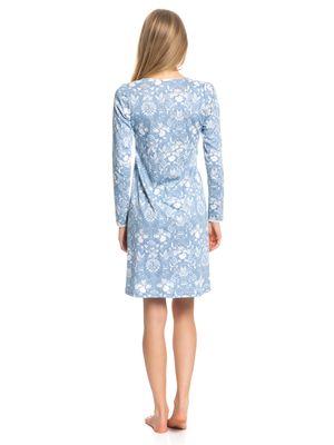 Vive Maria Blue Barock Nightdress blue allover – Bild 3