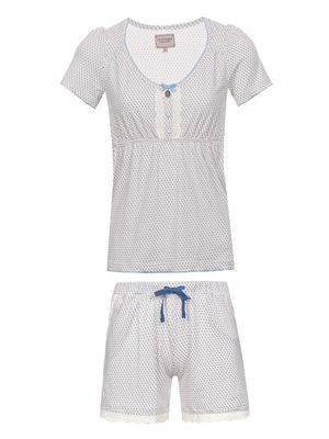 Vive Maria Sweet Lohas Short Pyjama creme allover – Bild 0