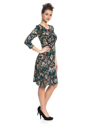 Vive Maria My Lovely Boheme Damen Kleid Schwarz Allover – Bild 2