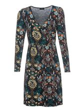 Vive Maria Hippy Boheme Wrapdress for Women Black Allover – Bild 0