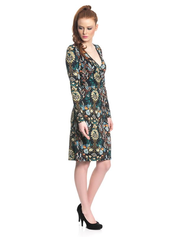 Vive Maria Hippy Boheme Wrapdress for Women Black Allover – Bild 2