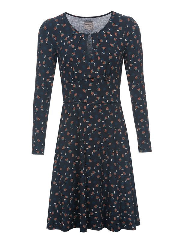 Vive Maria Sweet Swing Damen Kleid Navy Allover – Bild 0