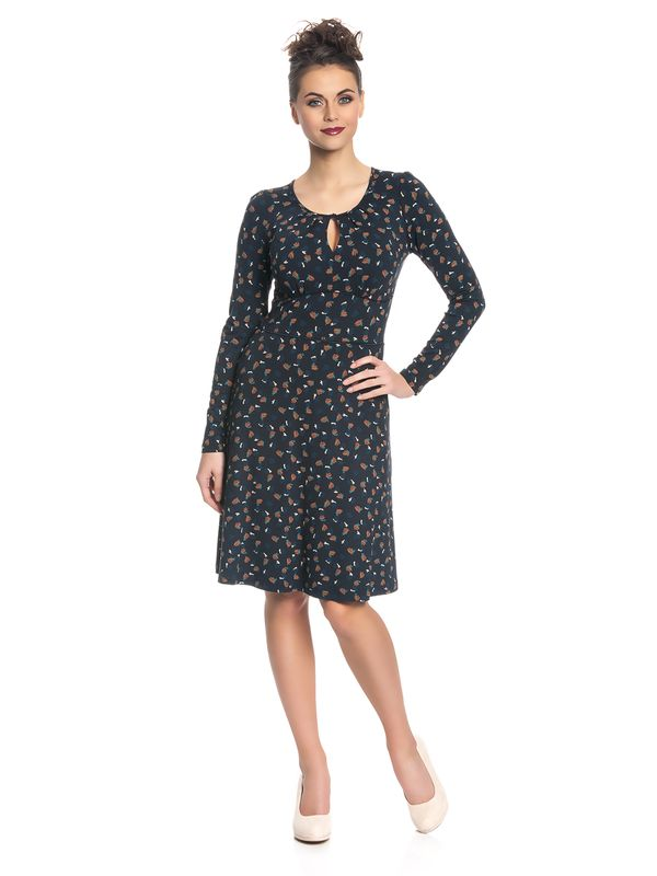 Vive Maria Sweet Swing Damen Kleid Navy Allover – Bild 1