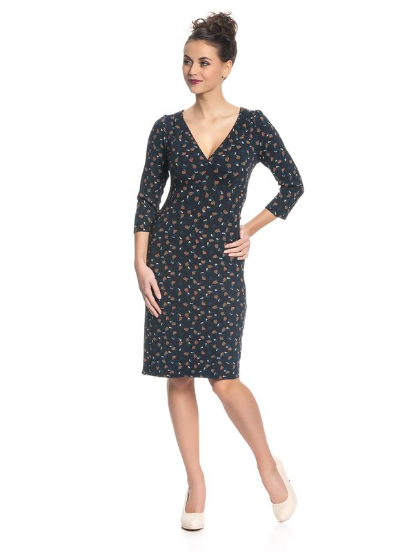 Vive Maria Swing Babe Dress for Women Navy Allover – Bild 1