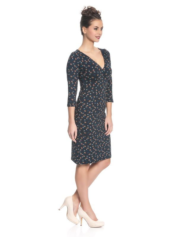 Vive Maria Swing Babe Damen Kleid Navy Allover – Bild 2