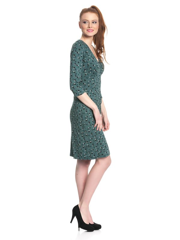 Vive Maria Swing Babe Dress for Women Green Allover – Bild 2