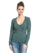 Vive Maria Swing Babe Shirt for Women Green Allover – Bild 1
