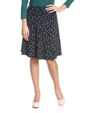 Vive Maria Swing Babe Skirt for Women Navy allover – Bild 1