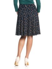 Vive Maria Swing Babe Skirt for Women Navy allover – Bild 3