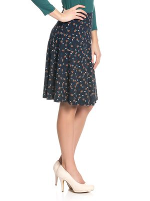 Vive Maria Swing Babe Damen Rock Navy allover – Bild 2
