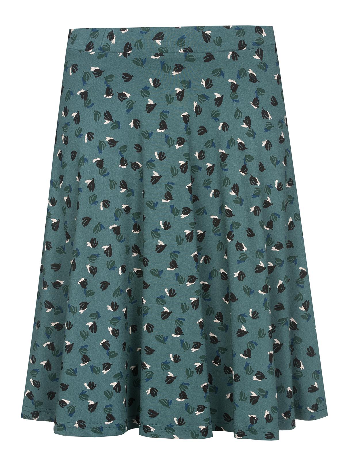 b4593b5bd10d Vive Maria Swing Babe Damen Rock Grün Allover Bekleidung Röcke