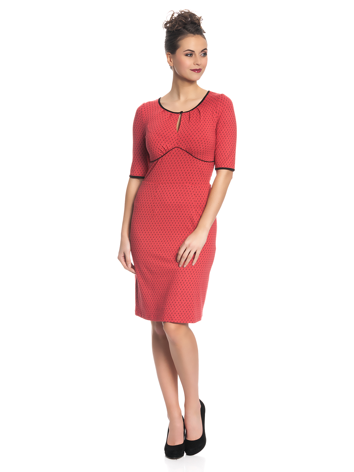 Vive Maria Lili Dress for Women Red Allover Clothing Dresses
