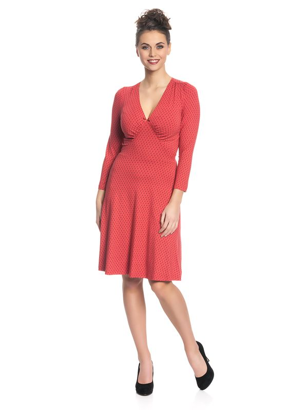 Vive Maria Lili Marleen Dress for Women Red Allover – Bild 2