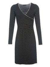 Vive Maria Italian Wrapdress for Women Black – Bild 0