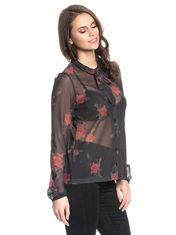 Vive Maria Tender Rose Blouse black allover – Bild 2