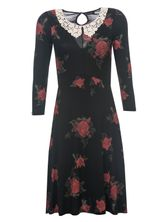 Vive Maria My Sweet Rose Dress black allover – Bild 0