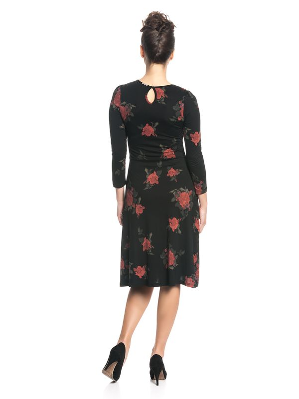Vive Maria My Sweet Rose Kleid Schwarz Allover – Bild 3