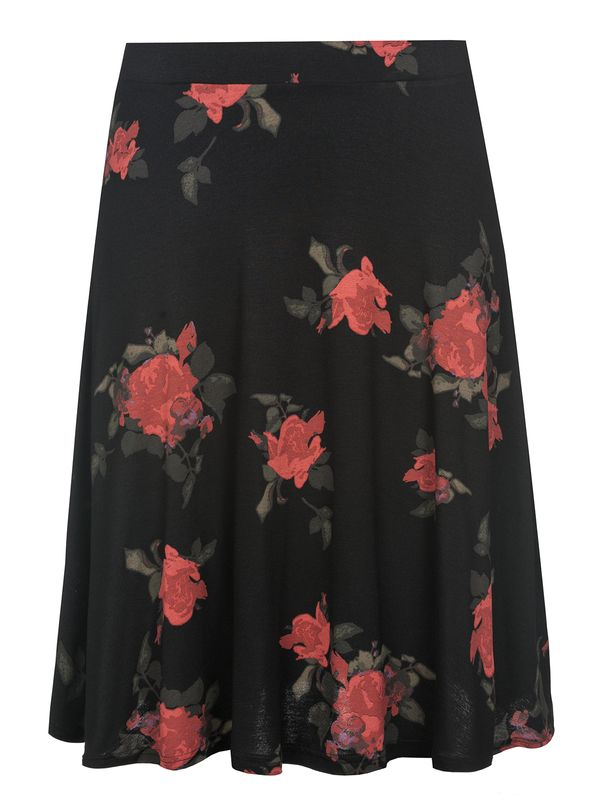 Vive Maria Red Rose Skirt black allover – Bild 0