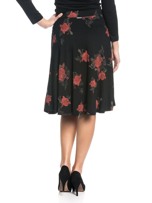 Vive Maria Red Rose Skirt black allover – Bild 3